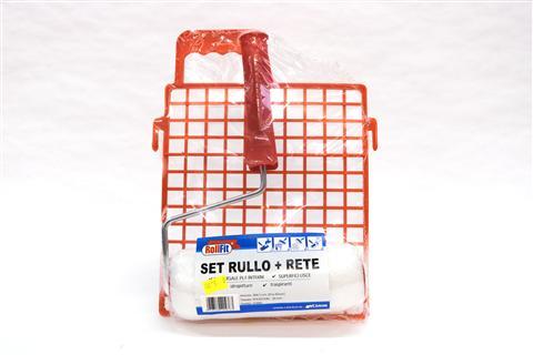 SET RULLO PER PITTURA + RETE